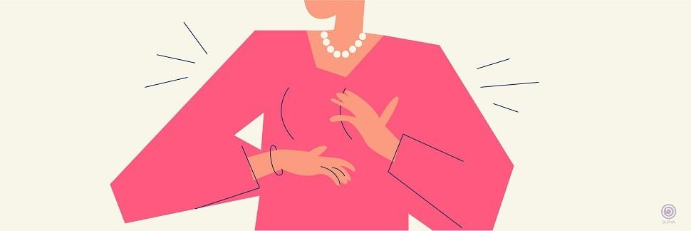 چرایی درد سینه در دوران قاعدگی