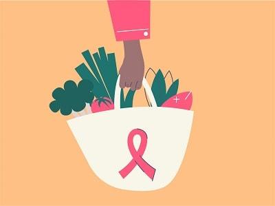 با تغذیه درست سایه سرطان سینه را دور کنید